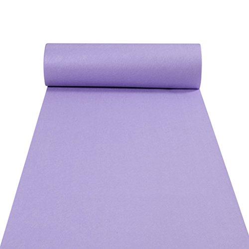 (JH Teppichläufer für Hall Stair Party Hochzeit Hochzeit Aisle Carpet Runner Teppich Floor Runner Echtes Lila (Color : Purple, Size : 1 * 100m))