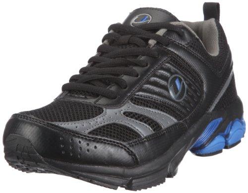 Ultrasport Men's Running Shoe – Black/Silver/Blue, Size 10
