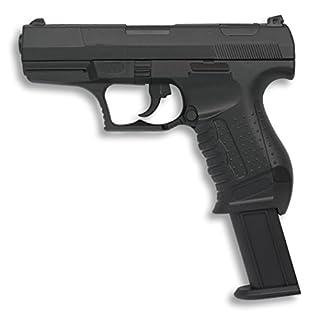 Pistola de Aire Suave 6 mm Albainox, Cuerpo de PVC, Accionamiento por Muelle, < 0,5 julios. Peso 275 gramos, 31 m/s, 102 fps,38287