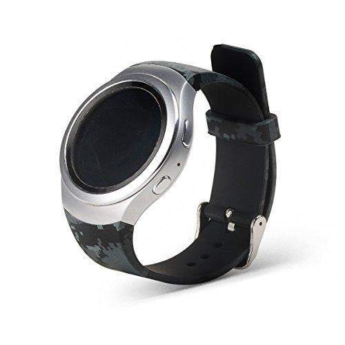 Gosuper Pulsera silicona suave correa banda Smartwatch