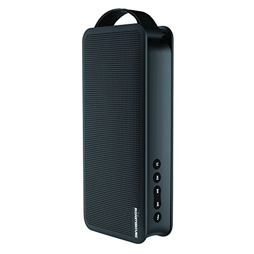 Monstercube Flyer Portable Wireless Bluetooth Speaker with Built-in 4000mah Power Bank, Dual 5w Drivers, Hand Strap for Outdoor Activities