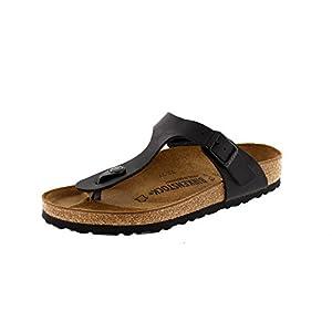 Birkenstock GIZEH Birko-Flor, Women's Sandals, Black, 5.5 UK (39 EU)