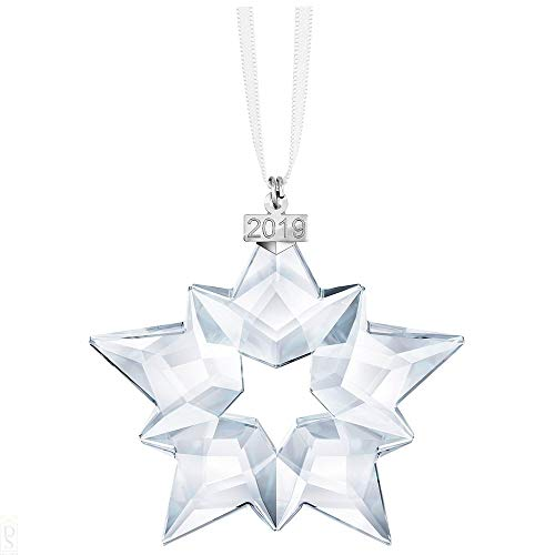 Swarovski ornament, cristallo, bianco, 7.5