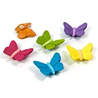 Trendform® Assorted Animal Style Office Magnets - Butterfly (1 set of 6)