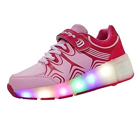 Baskets Lumineuses Homme - KIPTOP®Baskets Lumineuses clignotante Chaussures de Sport LED