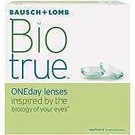 Bausch & Lomb Biotrue ONEday Tageslinsen weich, 90 Stück / BC 8.6 mm / DIA 14.2 mm / -01.75 Dioptrien