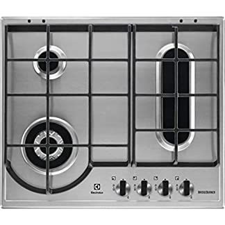Electrolux–Placa de cocción a gas egh 6349Box Acabado Inoxidable de 60cm