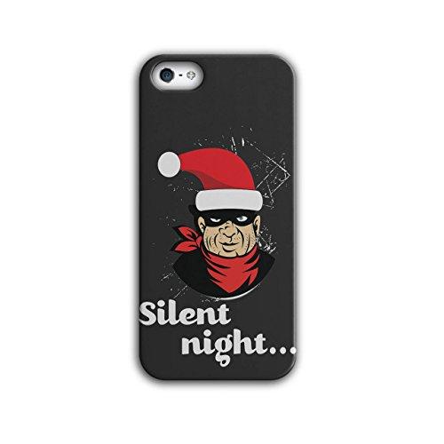 Dieb Hut Weihnachtsmann Weihnachten Fröhlich Weihnachten iPhone 5 / 5S Hülle | (Kostüm Halloween Diebe)