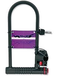 Candado de Horquilla de Acero para Bicicleta con soporte a Tija o Cuadro 2966