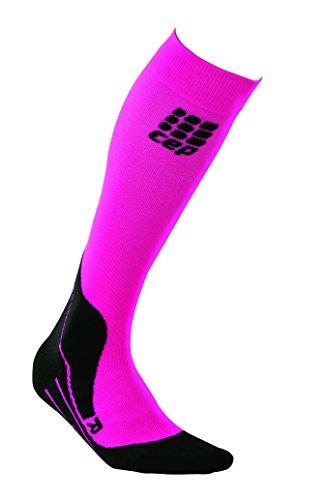 CEP Damen Strumpf Pro Plus Riding Socks Women, Pink, IV, WP404H4