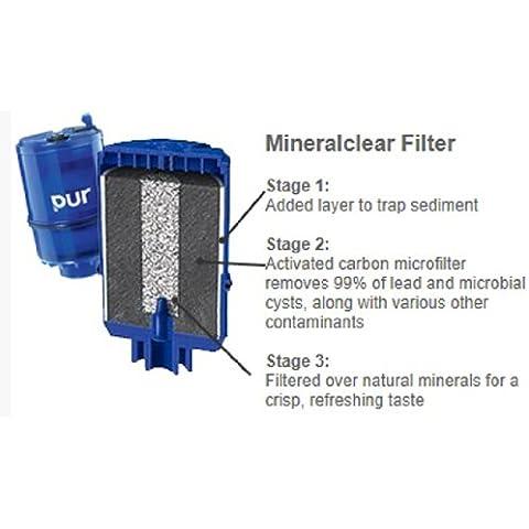 Pur Mineralcleartm 3-Stage-Filtro di ricambio per rubinetto,