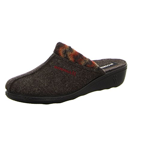 Romika 60092-54-323, Pantofole donna Marrone