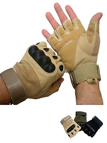 Sport Taktische Handschuhe Fahrradhandschuhe / Motorrad Handschuhe /Militär Handschuhe Armee Camo Taktische MOLLE EDC Handschuhe /Jagd...