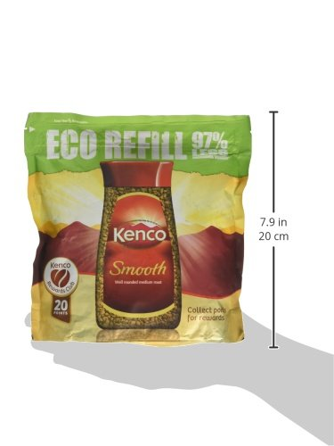 Kenco Smooth Instant Coffee Refill, 150g
