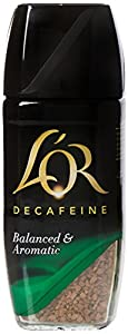 L'OR Decafiene Freeze Dried Instant Coffee, 100 g, Pack of 6