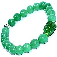 Bracelet Green Aventurine With Buddha Head 8 MM +3 Sodalite tumbles Birthstone Handmade Healing Power Crystal... preisvergleich bei billige-tabletten.eu