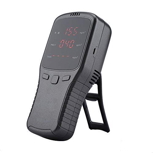 Pbzydu Luftqualitätsmonitor, multifunktionaler HCHO-Formaldehyddetektor PM2.5 PM10 PM1 TVOC-Monitor