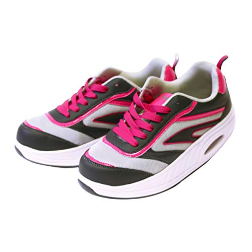 Fitness Step Grey/Pink (36)
