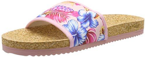 flip*flop Damen poolaloha Pantoletten, Pink (Silverpink 9200), 39 EU