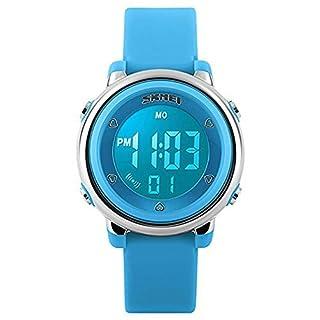 Digital Sport Watch,50M Waterproof Digital Watch for Boys and Girls Led Wristwatches