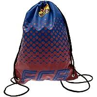FCB FC Barcelona - Bolsa de cuerdas con diseño degradado (44 x 33cm/Azul/Rojo)