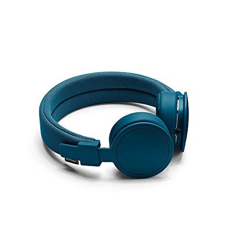 Urbanears Plattan ADV Cuffie Stereo con Microfono e Telecomando, Blu