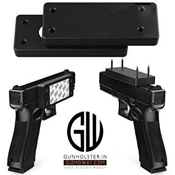 Gizmoway GW Magnetic Gun Mount (35lbs Capacity)