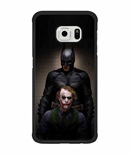 Galaxy S6 Edge Coque Case, Samsung Galaxy S6 Edge Batman and Joker video games Personality Cute Back Coque Case & Cover for Snap-on #37134