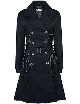 Chemical Black Ellen Coat Cappotto donna nero