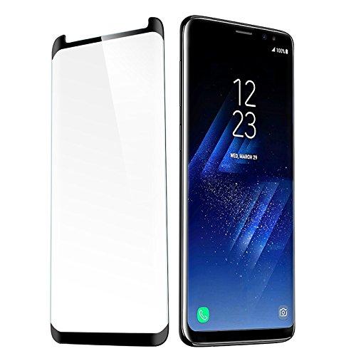 KASSIDY HAMILTON 3d HD gehärtetes Glas Displayschutzfolie Film-Abdeckung, Displayschutzfolie für Samsung Galaxy-Plus (Abdeckung Hamilton)