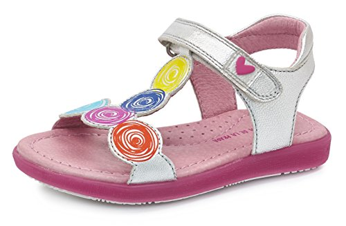 agatha-ruiz-de-la-prada-172968-sandales-pour-fille-argente-33-eu