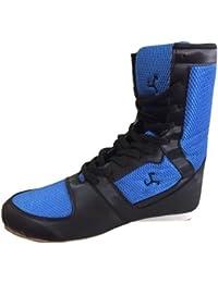 Le Buckle Unisex Black Boxing Shoes (9)