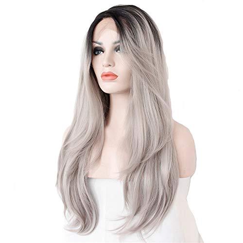 Lace The Gradient Lange Locken Haar gefärbte Kopfbedeckung, -