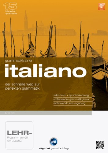 Interaktive Sprachreise 15: Grammatiktrainer Italiano