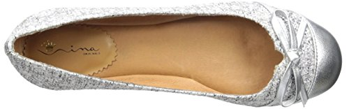 Nina Marybeth Toile Chaussure Plate Ice Glam