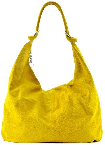 Cuir-Destock sac à main cuir nubuck femme porté main et épaule Modèle bloom - nouvelle collection 2018