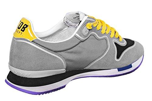 Golden Goose , Chaussures de gymnastique pour homme * Grey Yellow