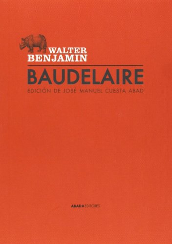 Baudelaire (Lecturas de Teoría Literaria)