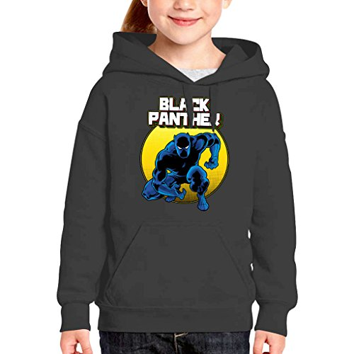 Comic Book Art Kid's Hooded Sweatshirt (Panther-kids)