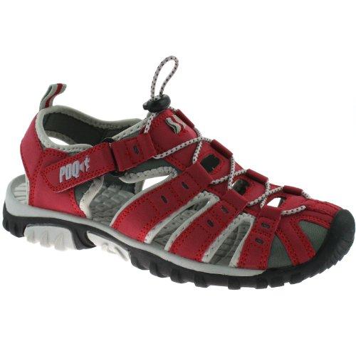 PDQ , Sandales de marche pour homme Rouge rouge Rouge - rouge