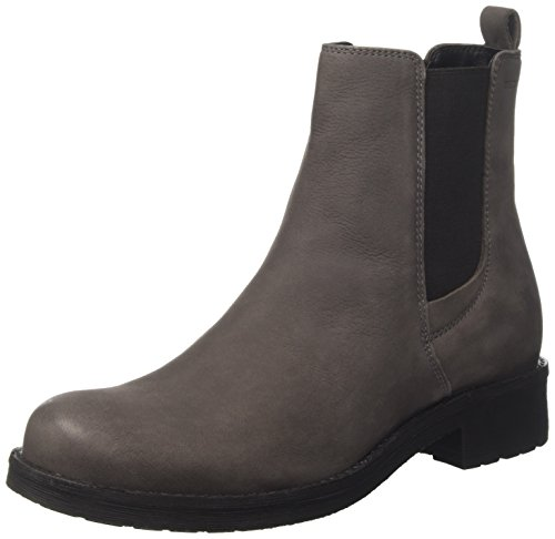 Geox Damen D New Virna F Chelsea Boots, Braun (Mud), 39 EU