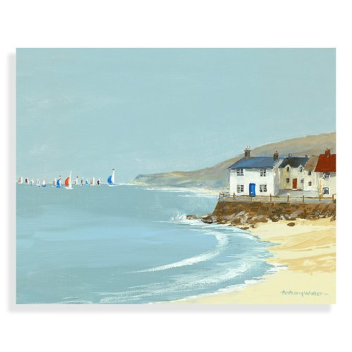 Spinnaker Canvas Print by Anthony Waller -
