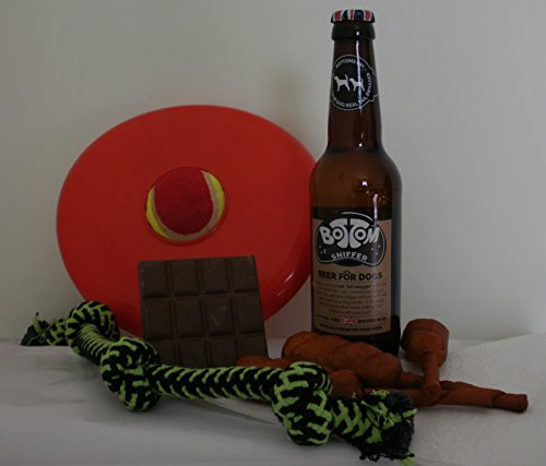 Beer & Kebab Dog Christmas Hamper with Treats and Toys