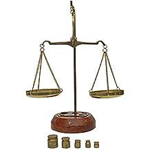 Aubaho Balanza de Farmacia latón balanza para oroestilo 17cm Antiguo