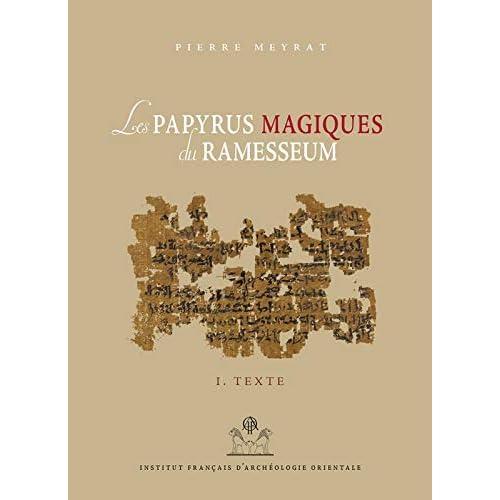 Les papyrus magiques du Ramesseum : Recherche sur une bibliothèque privée de la fin du Moyen Empire - Tome 1 et Tome 2