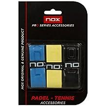Nox Blister 3 Uni Tacto Color - Overgrip, color multicolor