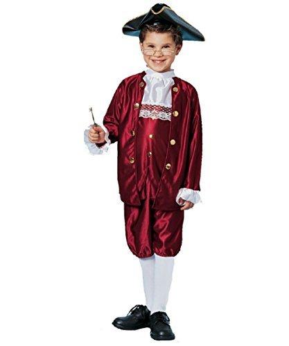 Franklin Ben Kostüm - Ben Franklin Costume (Small) by Franco