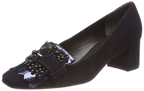 Kennel And Schmenger Ladies Isabel Pumps Blu (oceano / Nero Suola Bianca)