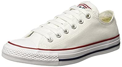 Converse Unisex's Optical White Sneakers - 3 UK/India (35 EU) (150768C)