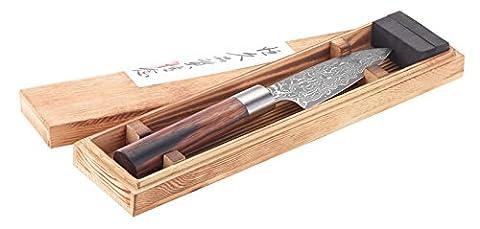 Couteau de cuisine Damas couteau éminceur